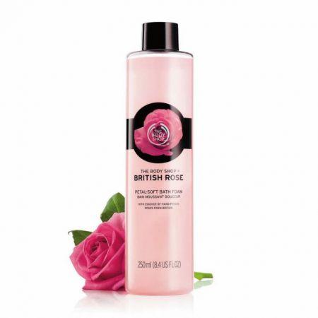 British Rose Bath Bubble